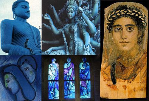 Inspirations for Blue Goddess