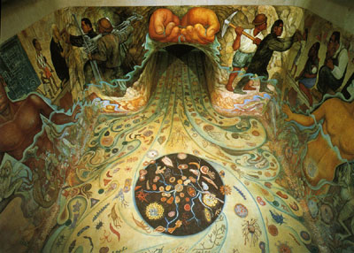 Water: Origin of Life by Diego Rivera