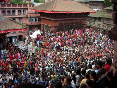Indrajatra Durbar Square, Kathmandu