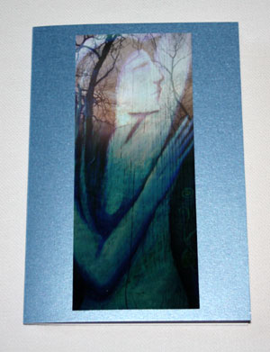 Night river Goddess card