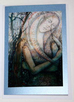 Star Goddess card