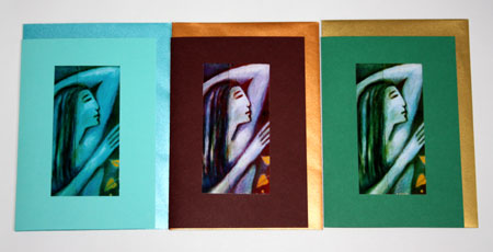 Three Goddess cards