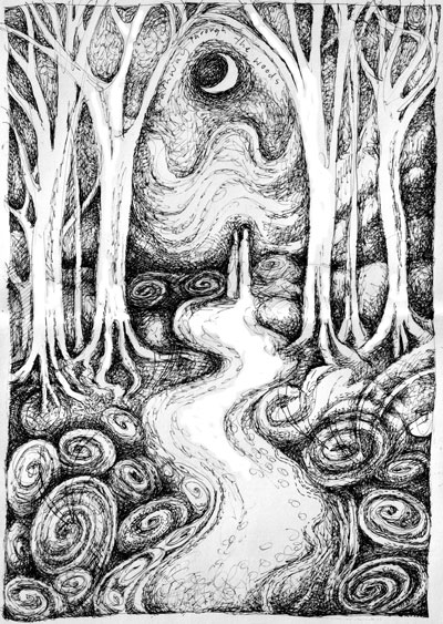 Pathway Through the Wood