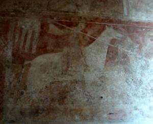 St George fresco, Hardham church