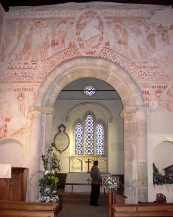 Clayton Church fresco