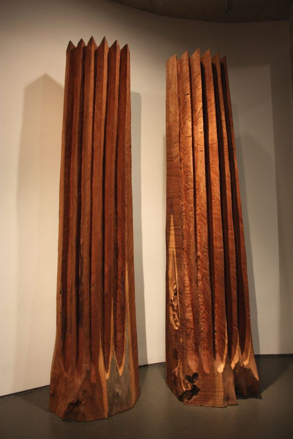 King and Queen - David Nash
