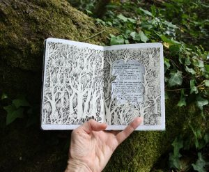 Forest sketchbook - Lost poem
