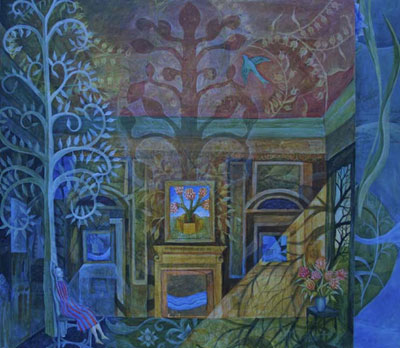 Julia-Zanes - A Bird Flew in the Window