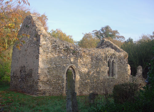 Ruined Chapel, Norfolk