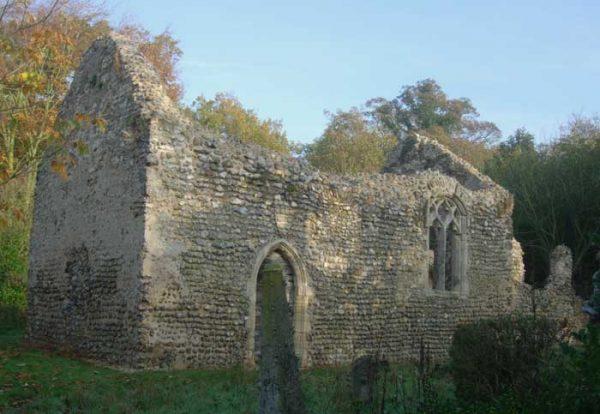 Chapel ruin, Norfolk