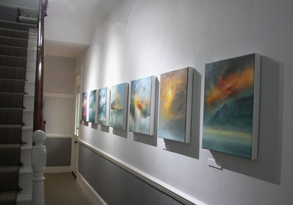 Susan Evans skyscapes