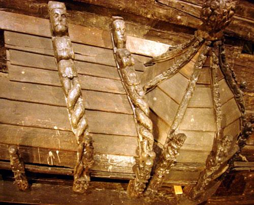 Vasa Ship Mermen