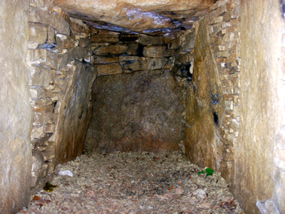 Uley Long Barrow Chamber