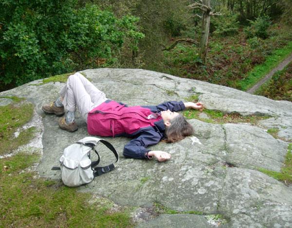 At Eridge Rocks