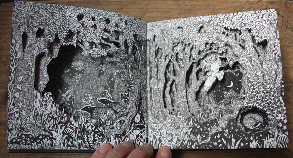 Spread three of my altered sketchbook.