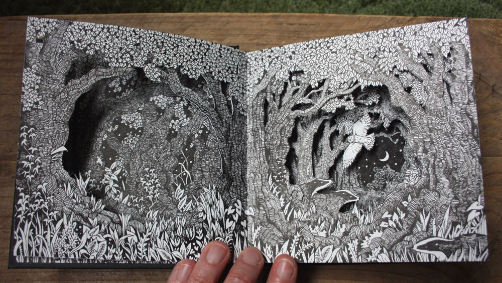 The second spread of my altered sketchbook.