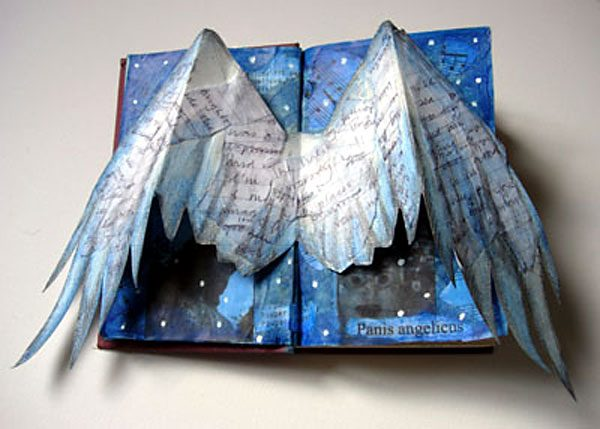 Angel Altered Book