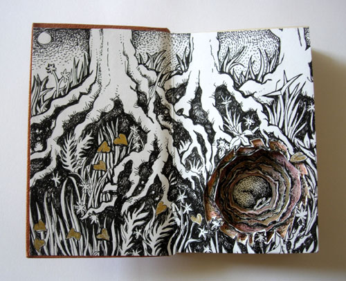Badger Altered Book
