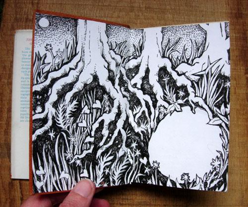 Badger Altered Book