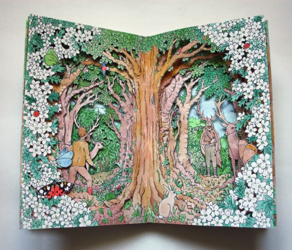 The Box of Delights Altered Book