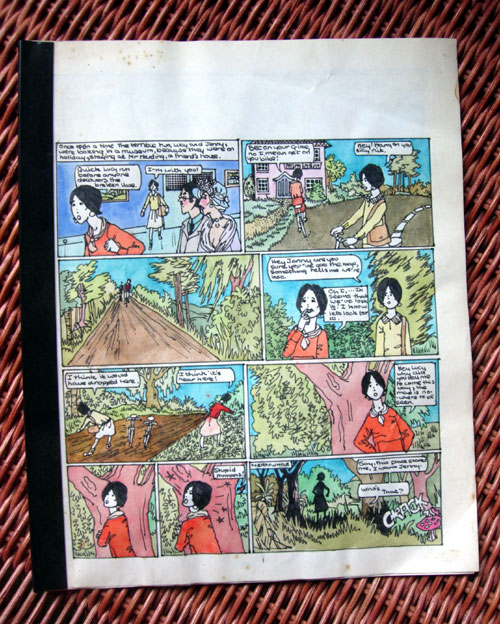 Handmade Comic Strip