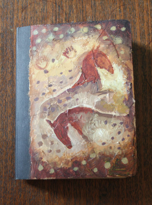 Diary Cover Two Horses