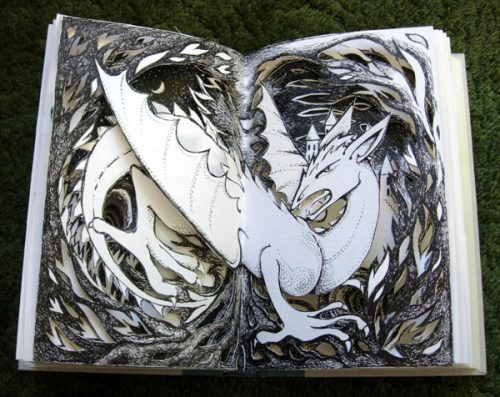 Dragon Altered Book