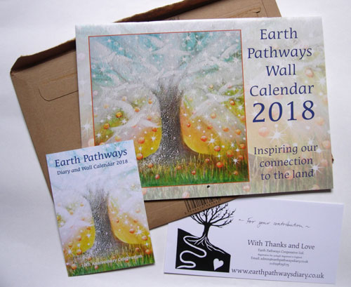 Earth pathways calendar 2018