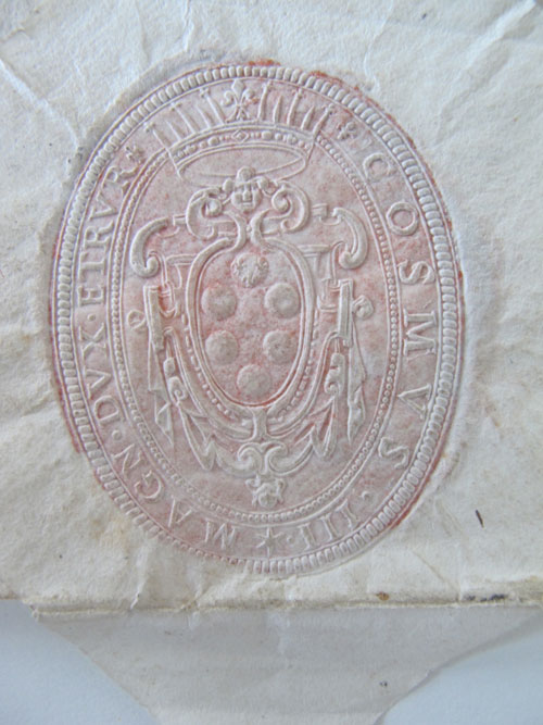 Embossed Letter Seal
