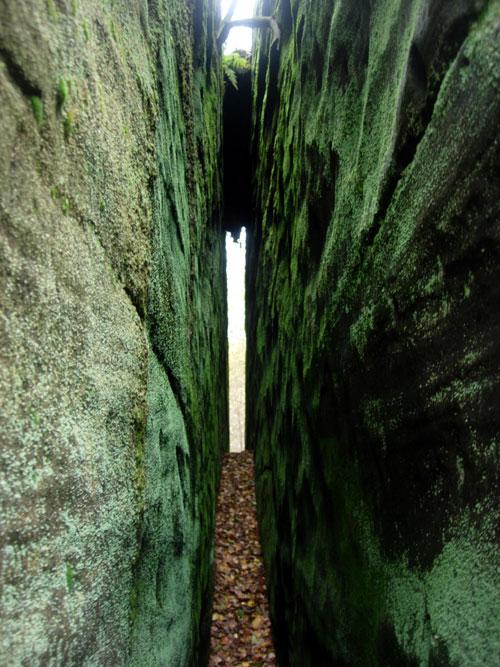 Rock Cleft Eridge Rocks