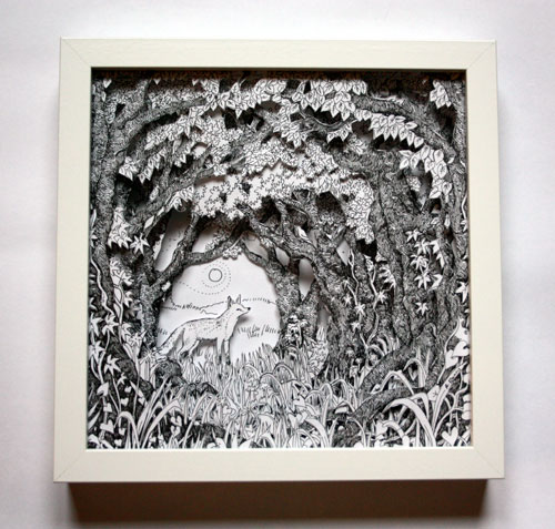 At the Woodland Edge Box Frame