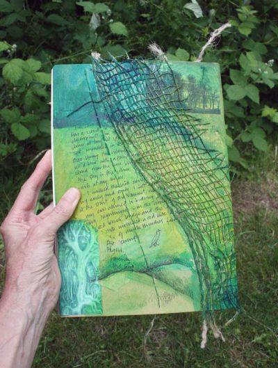 Walks sketchbook - back.