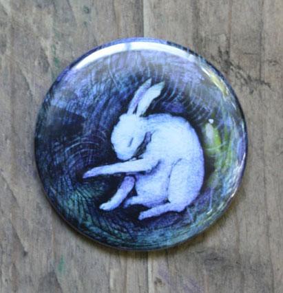 Hare Pocket Mirror