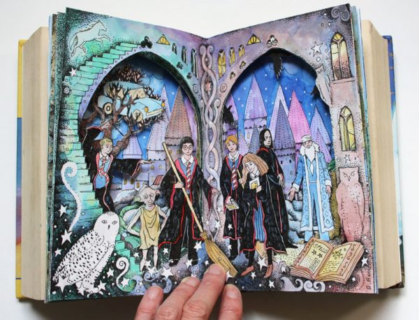 Harry Potter altered book