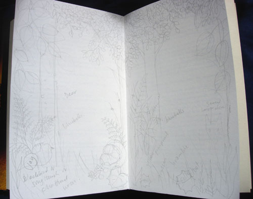 The Start of an Altered Book