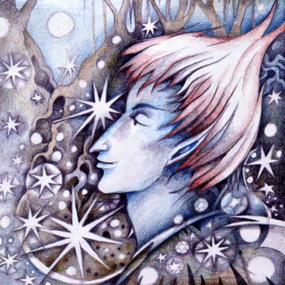 Jack Frost Greetings Card