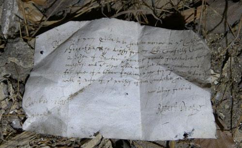 Knole Park Letter