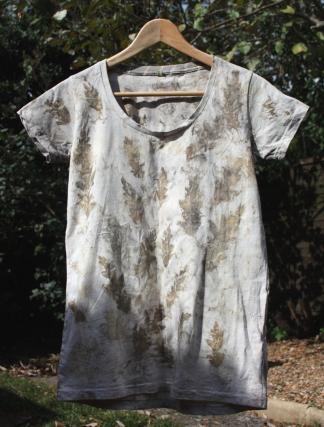 Leaf Dyed Women's T-Shirt