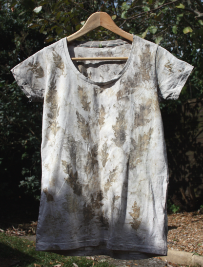 Leaf Dyed Women's T-Shirt