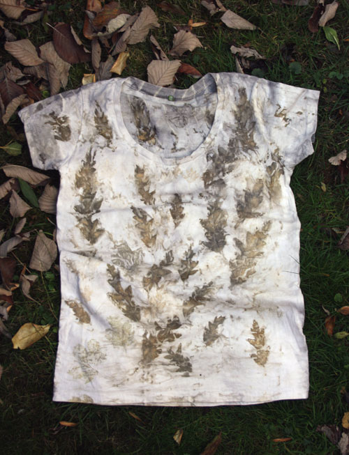 Leaf Dyed T-shirt