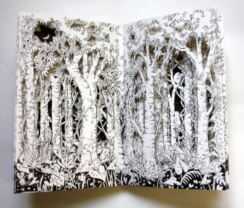 Loris Forest Altered Book