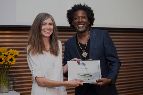 Lemn Sissay and Alexi Francis