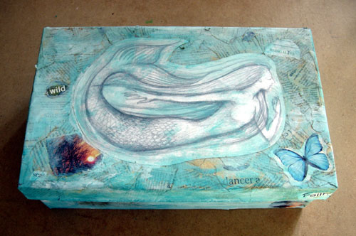 Mermaid Memory Box