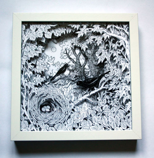 Blackbird Nest Box Frame