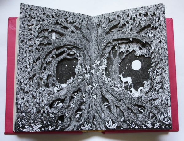 Beneath the Old Tree Altered Book