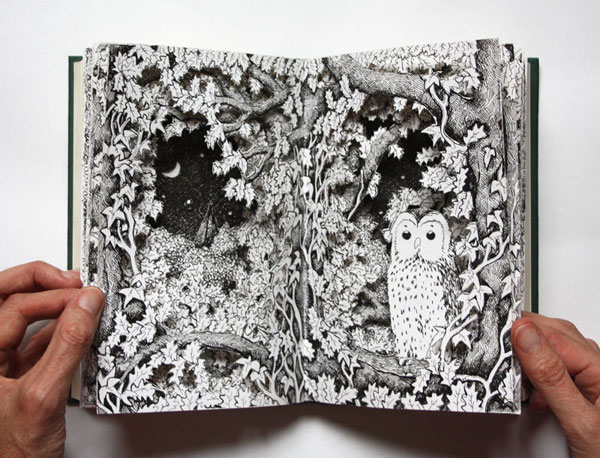 Night Owl Altered Book