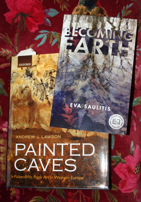 Painted Caves and Becoming Earth books