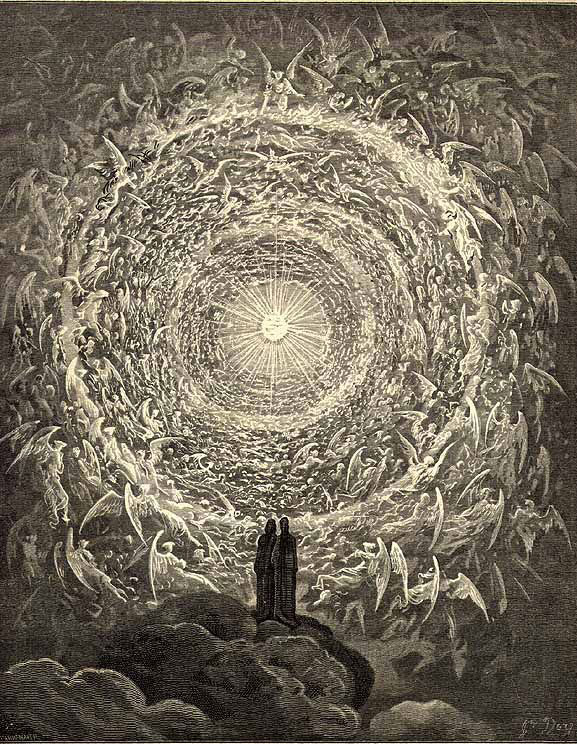 Paradiso Canto by Gustave Dore