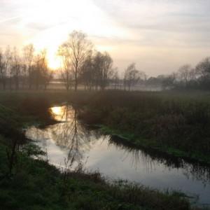 River Adur in Mist