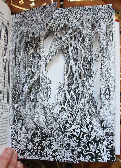 A page from my Roots Altered Book